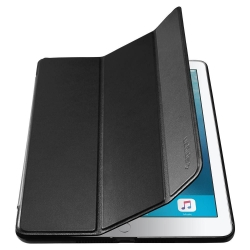 ETUI SPIGEN SMART FOLD IPAD 9.7 2017/2018 BLACK