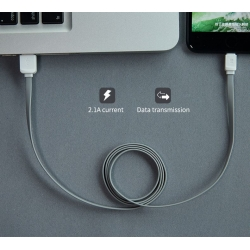 KABEL ROCK USB 2.0 do microUSB 2M GREY