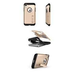 ETUI SPIGEN SLIM ARMOR IPHONE XR CHAMPAGNE GOLD
