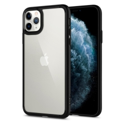 ETUI SPIGEN ULTRA HYBRID IPHONE 11 PRO Mate Black