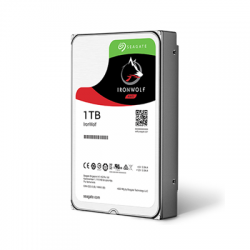 Dysk Seagate IronWolf, 3.5'', 1TB, SATA/600, 5900RPM, 64MB cache